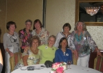 Ann, Mary Ellen, Sue, Diane, Barb, Gail, Tootie, and Barb